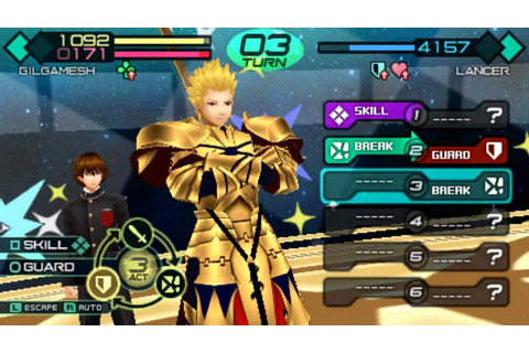 Fate Extra ISO for PPSSPP - isoroms.com
