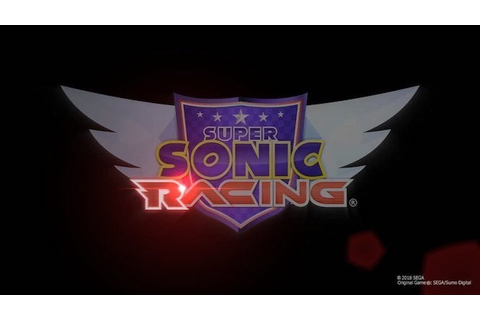 Rumor: Sega's New Sonic Racing Game May Have an Official Title