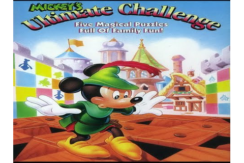 Mickey's Ultimate Challenge - SNES Full Gameplay - Mickey ...