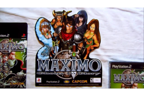 Retro Video Game Promo Collection (PART 23) - Maximo ...