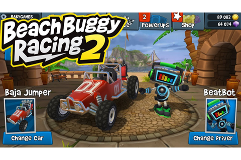 Driving Turbo Shooting 3D Car Race Game Play - Beach Buggy ...