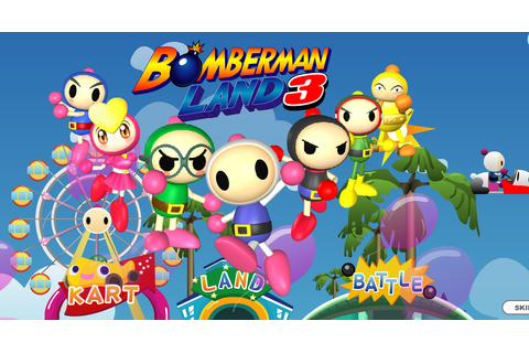 Image - Land 3 Website Intro.png | Bomberman Wiki | FANDOM ...