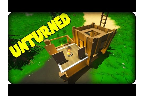 Unturned Gameplay - Zombie Survival Game - How to make a ...