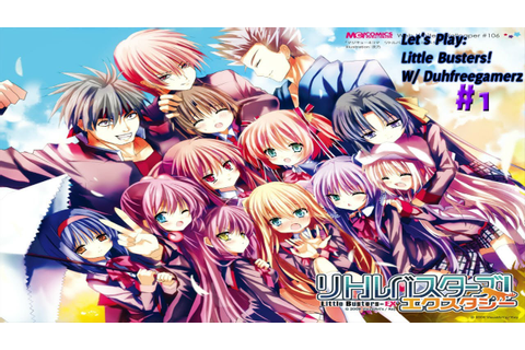 "Let's Play: [Visual Novel] Little Busters Episode 1 "" A ..."