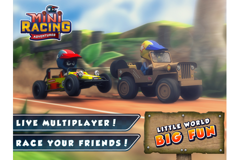 Mini Racing Adventures iOS, iPad, Android, AndroidTab ...
