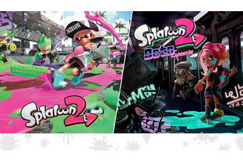 Buy Splatoon 2 and Splatoon 2: Octo Expansion Bundle from ...