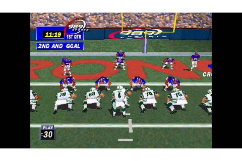 NFL GameDay 99 – DEAD BALLS' Sports Video Game Reviews