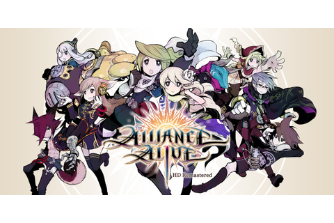 The Alliance Alive HD Remastered | Nintendo Switch | Games ...