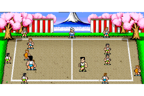 Super Dodge Ball/Arcade details — StrategyWiki, the video ...