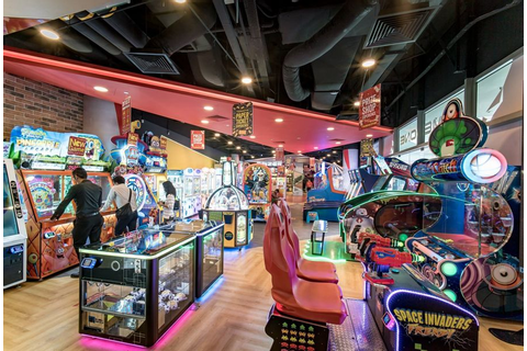 Timezone's Revamped VivoCity Outlet Features Arcade ...