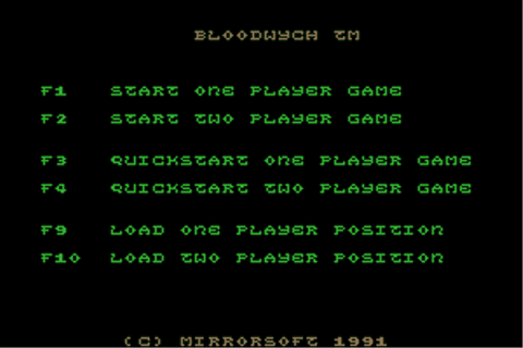 Download Bloodwych - My Abandonware
