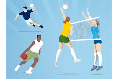 Ball Games Vector Art & Graphics | freevector.com