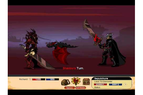 Dragon Fable Friday the 13th War 2011 Sepulchure Boss ...