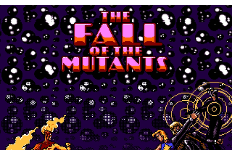 X-Men II: The Fall of the Mutants - Play Online Classic Games