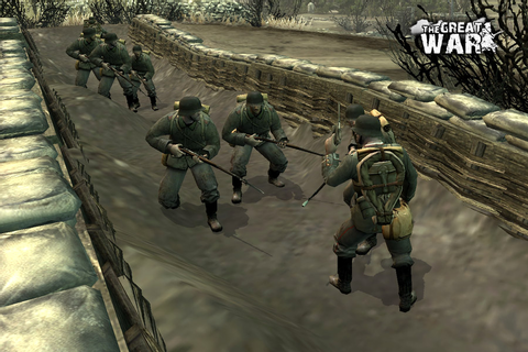 Trenches and cold steel image - The Great War 1918 mod for ...