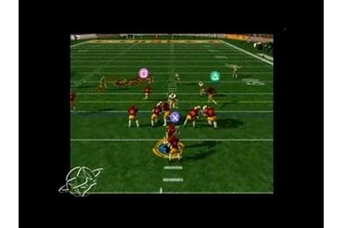 NCAA College Football 2K3 PlayStation 2 Gameplay_2002_07 ...