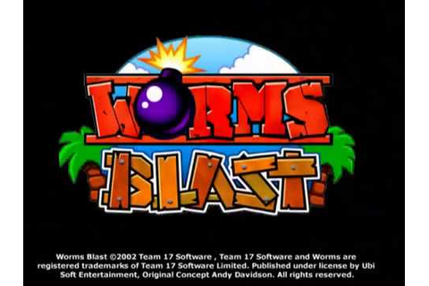 Worms Blast - video game trailer (2002) PC/PS2/Mac/GC ...