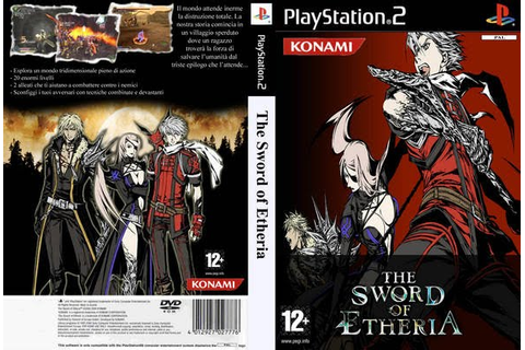 GAME PS2: THE SWORD OF ETHERIA