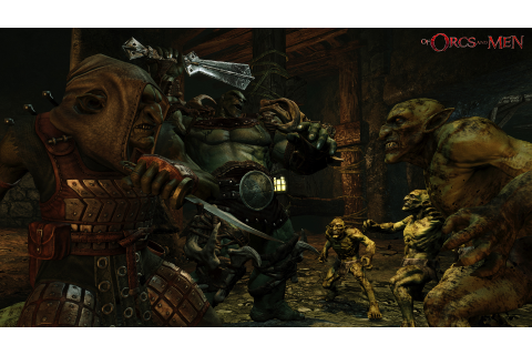 of orcs and men game fight image - Orc clan and Orks ...