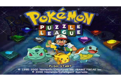 Pokemon Puzzle League - YouTube