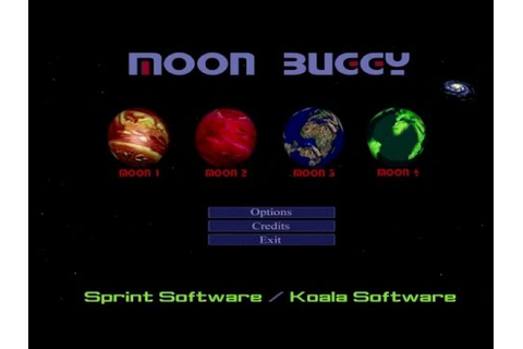 Obscure Games - Moon Buggy (Moon 1-6) - YouTube