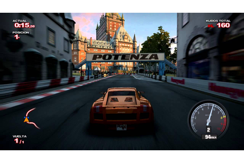 Project Gotham Racing 4 - Quebec - Lamborghini Gallardo ...