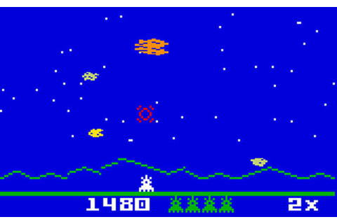 Astrosmash Review for Intellivision (1981) - Defunct Games