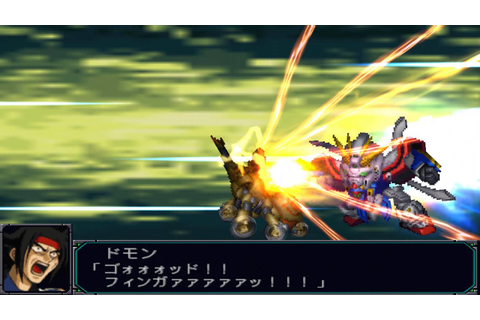 PPSSPP PSP Super Robot Taisen(Wars) MX Portable(슈로대MX포터블 ...