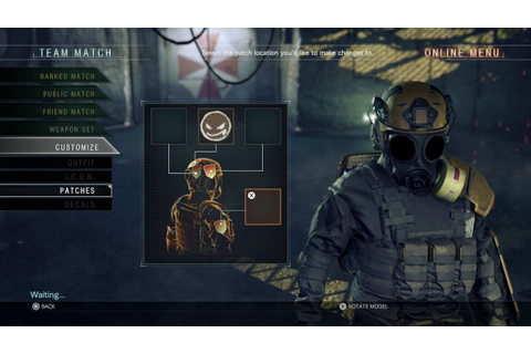 Resident Evil: Umbrella Corps - Customize: Outfit, ICON ...
