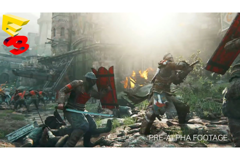 For Honor Multiplayer Gameplay Trailer - E3 2015 ...