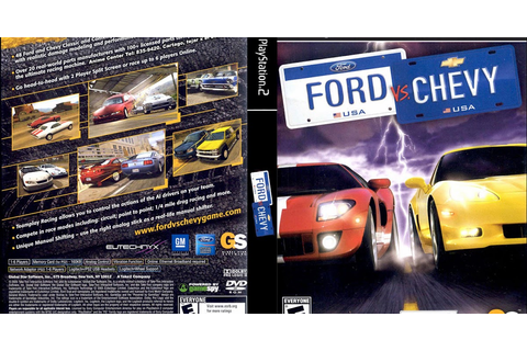 Ford vs. Chevy - Playstation 2 - Ultra Capas