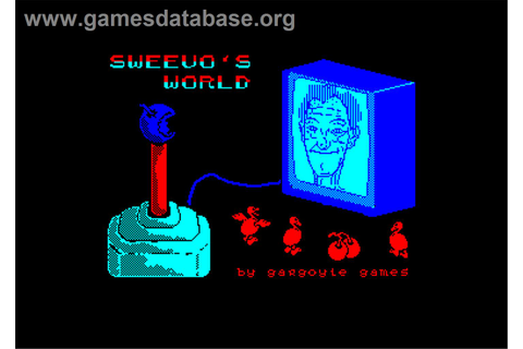 Sweevo's World - Amstrad CPC - Games Database
