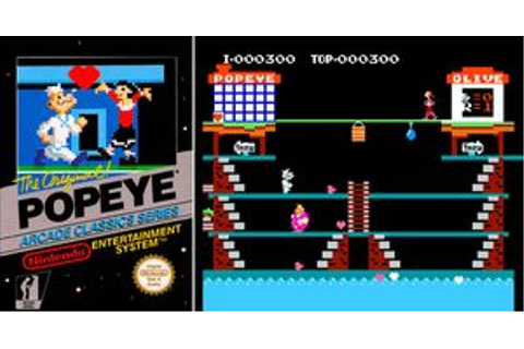 Popeye (NES) - Online Game | OldGameShelf.com