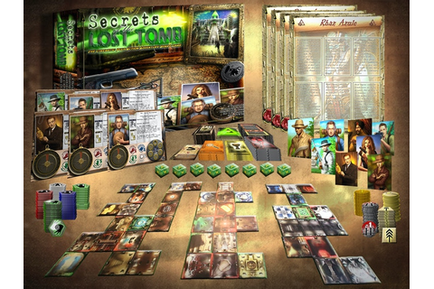 Secrets of the Lost Tomb by Everything Epic —Kickstarter