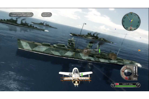 Battlestations Pacific Kamikaze Gameplay - YouTube