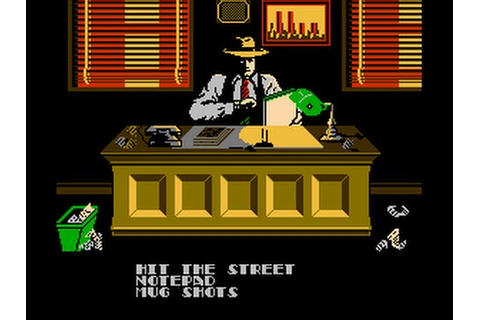 Dick Tracy Nes Music - Office - YouTube