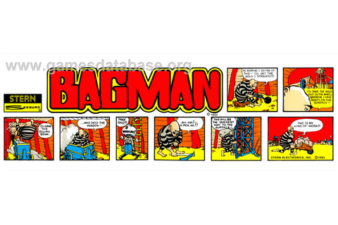Bagman - Arcade - Games Database