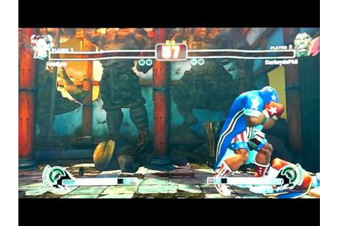 Street Fighter 4 - Widescreen MADNESS pt13 - YouTube