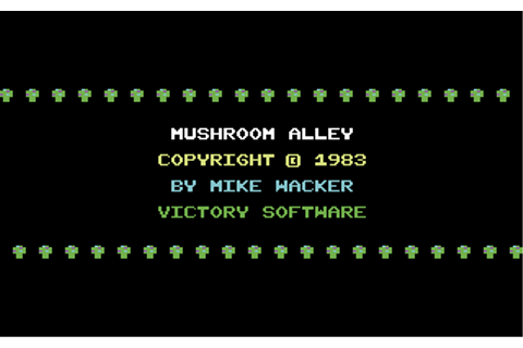 Download Mushroom Alley (Commodore 64) - My Abandonware