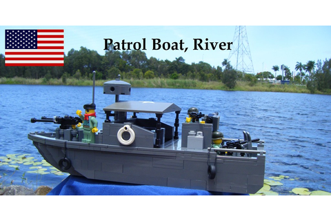 Vietnam War River Patrol Boat | Inspired by Brickmania ...