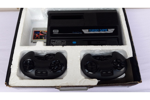 Turbo Game Cce - 2 Controles + 64 Jogos - 100 % - R$ 600 ...