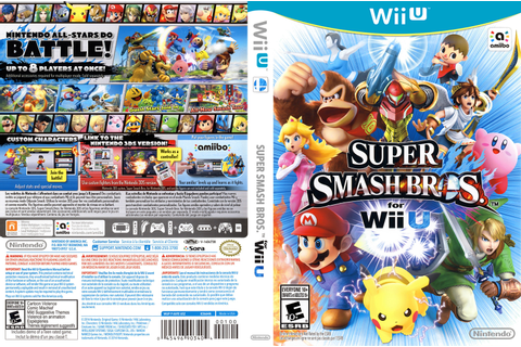 AXFE01 - Super Smash Bros. for Wii U