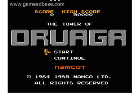 Tower Of Druaga, The ROM - Nintendo (NES) | Emulator.Games