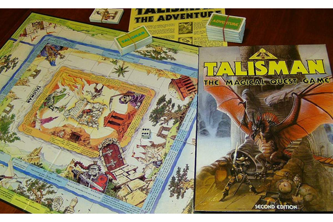 Talisman – My love/hate relationship with a board game! | Dragons of ...