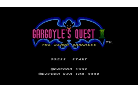 Gargoyle's Quest II: The Demon Darkness Screenshots ...