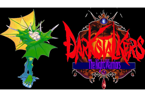 Darkstalkers: The Night Warriors | ARCADE | Rikuo - YouTube
