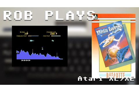 """The Tail of Beta Lyrae"" on Atari XL/XE - Rob Plays - YouTube"