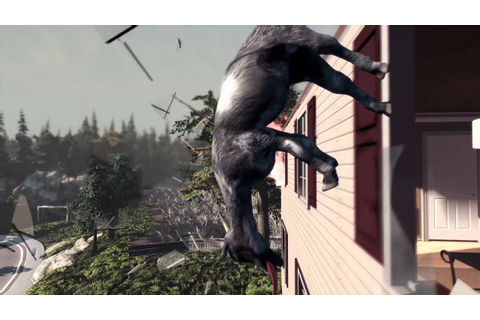 Goat Simulator Official Launch Trailer - YouTube