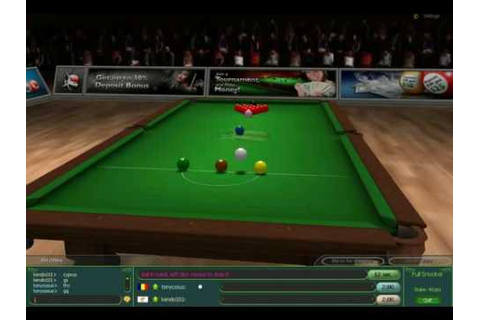 PoolSharks Free Online Snooker Game - YouTube