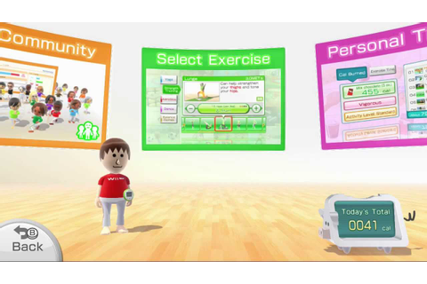 Wii Fit U Playthrough Part 1 - YouTube